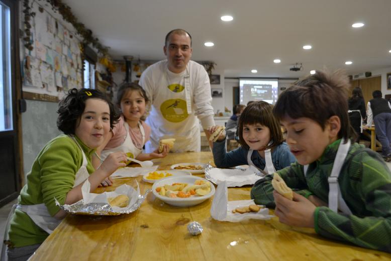 Celebra tu cumpleaños en granja escuela Xuberoa
