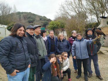 VISITA VOLUNTARIOS BANCO DE ALIMENTOS DE NAVARRA